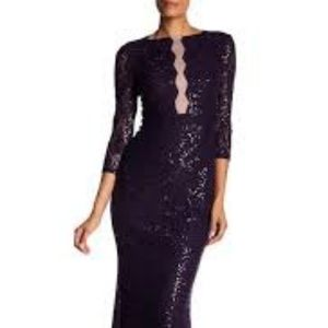 Marina Illusion Front Gown